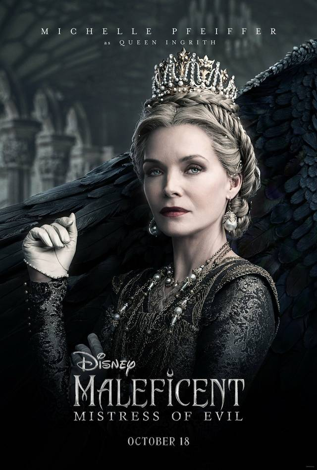 Maleficent – Signora del Male Teaser Character Poster USA 1