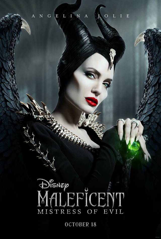 Maleficent – Signora del Male Teaser Character Poster USA 2