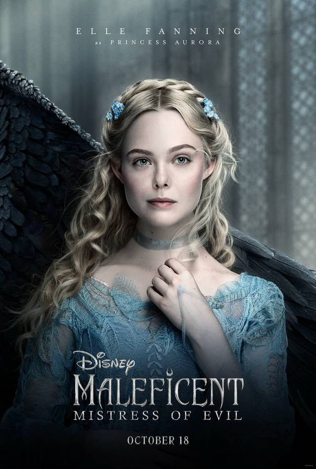 Maleficent – Signora del Male Teaser Character Poster USA 3
