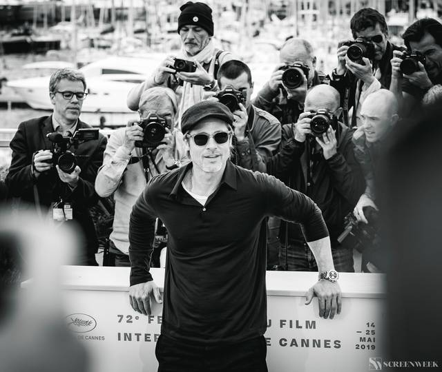 Festival di Cannes_Photocall C'era una volta...a Hollywood_Brad Pitt foto 1