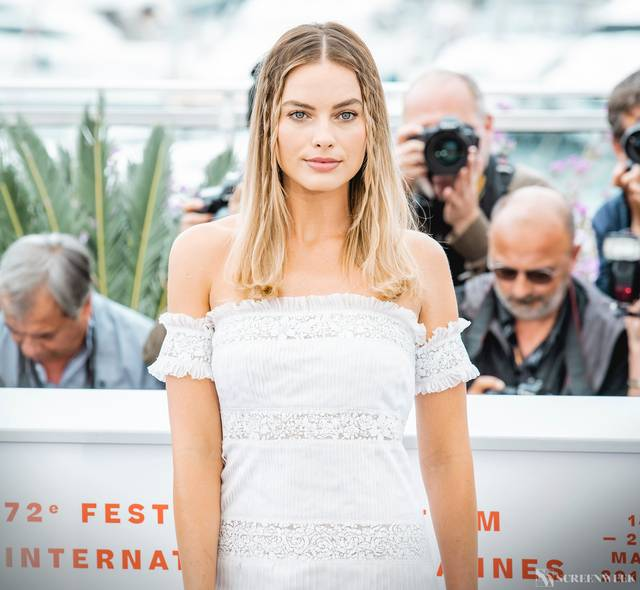 Festival di Cannes_Photocall C'era una volta...a Hollywood_Margot Robbie foto 1