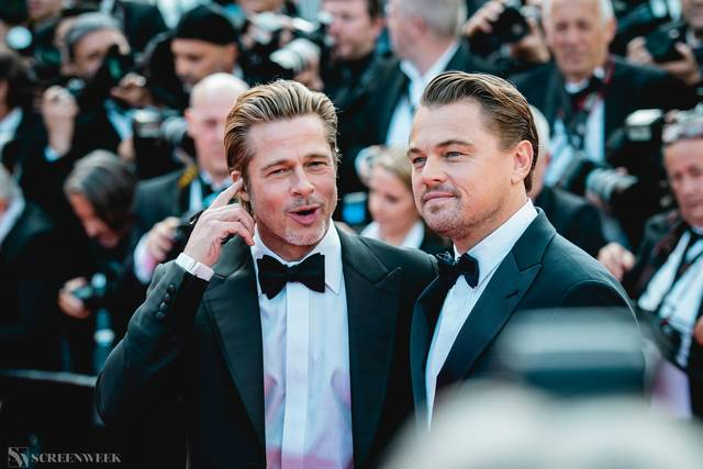 Festival di Cannes_Red Carpet C'era una volta...a Hollywood_Brad Pitt Leonardo DiCaprio foto 3