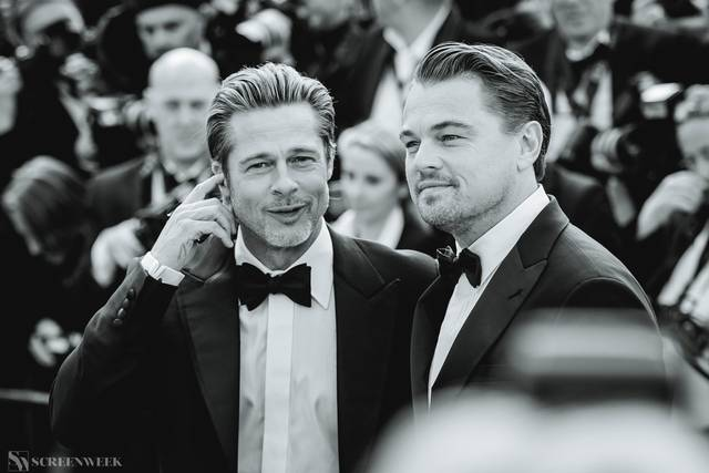 Festival di Cannes_Red Carpet C'era una volta...a Hollywood_Brad Pitt Leonardo DiCaprio foto 4