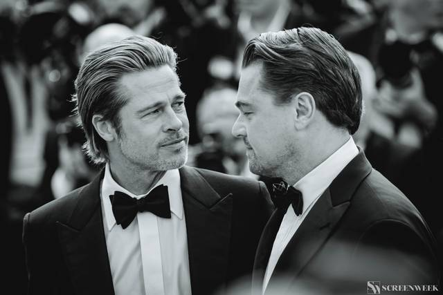 Festival di Cannes_Red Carpet C'era una volta...a Hollywood_Brad Pitt Leonardo DiCaprio foto 5
