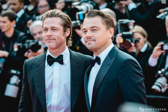 Festival di Cannes_Red Carpet C'era una volta...a Hollywood_Brad Pitt Leonardo DiCaprio foto 6