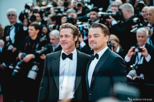 Festival di Cannes_Red Carpet C'era una volta...a Hollywood_Brad Pitt Leonardo DiCaprio foto 7