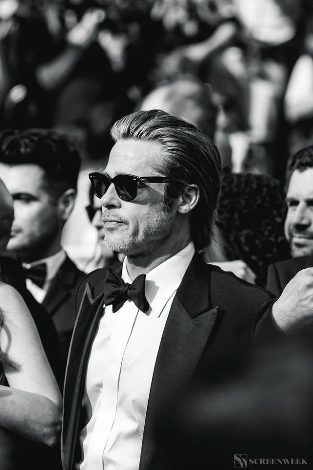 Festival di Cannes_Red Carpet C'era una volta...a Hollywood_Brad Pitt foto 2