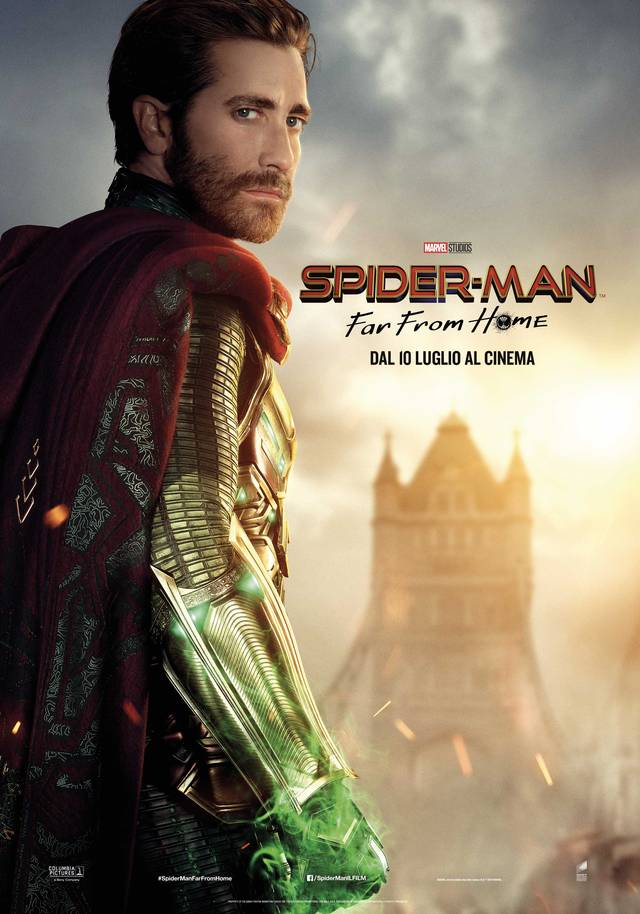 Spider-Man - Far From Home_Teaser Character Poster Italia 1