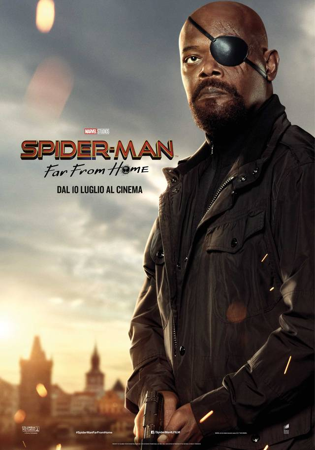 Spider-Man - Far From Home_Teaser Character Poster Italia 2