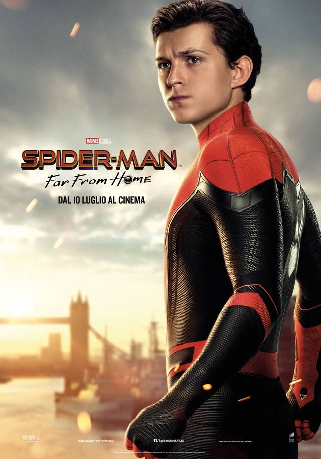 Spider-Man - Far From Home_Teaser Character Poster Italia 3