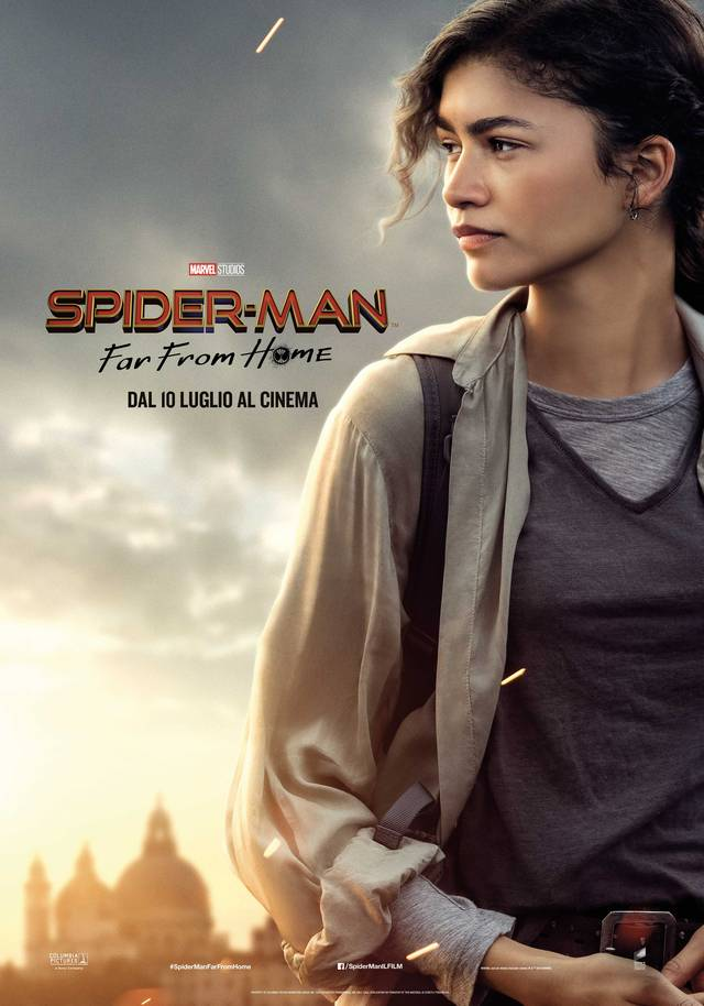 Spider-Man - Far From Home_Teaser Character Poster Italia 4