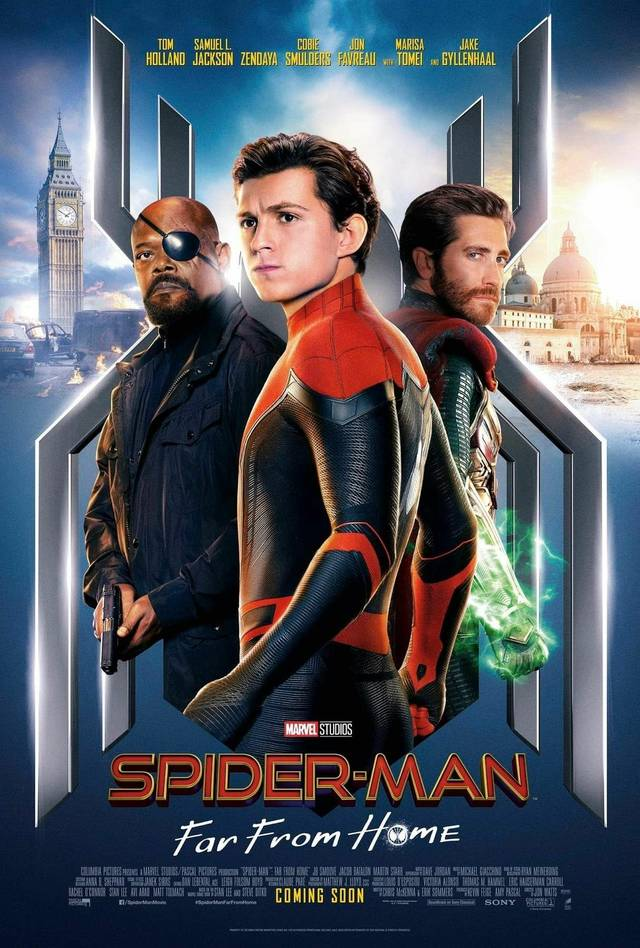 Spider-Man - Far From Home Teaser Poster USA 1