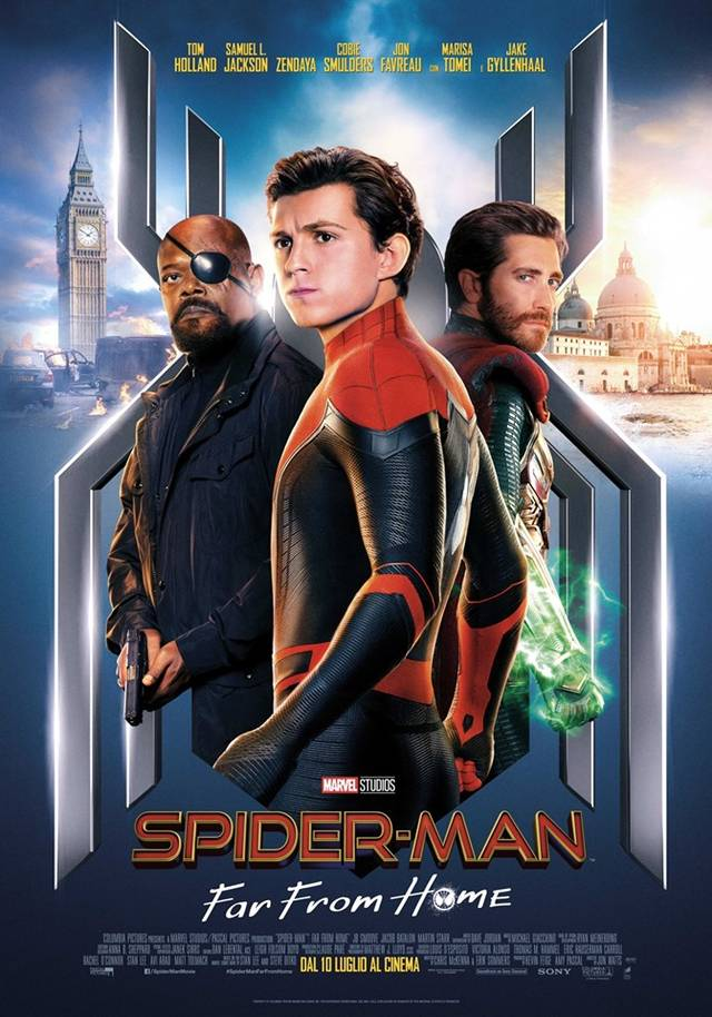 Spider-Man Far From Home Poster Italia