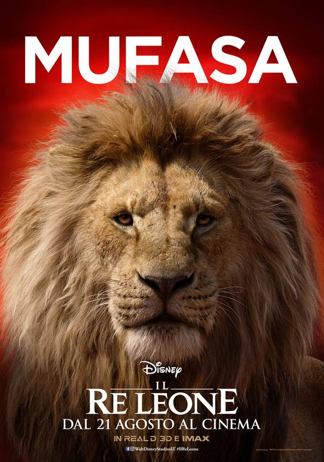 Il Re Leone_Teaser Name-Character Poster Italia 5