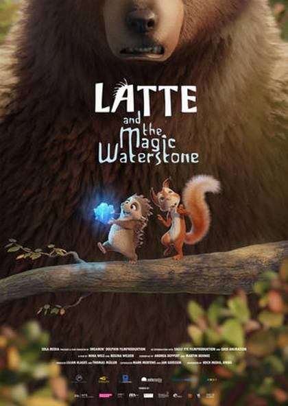 Latte & The Magic Waterstone Teaser Poster Internazionale