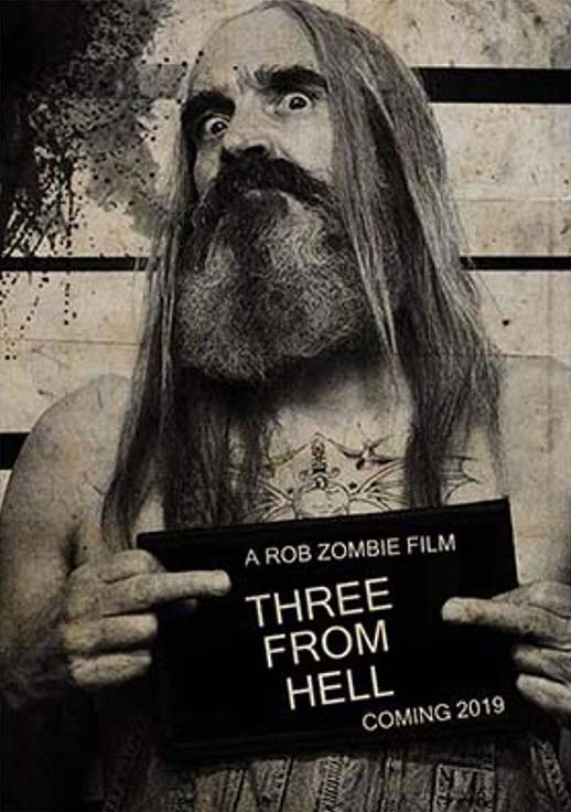 3 From Hell Teaser Character Poster USA 2