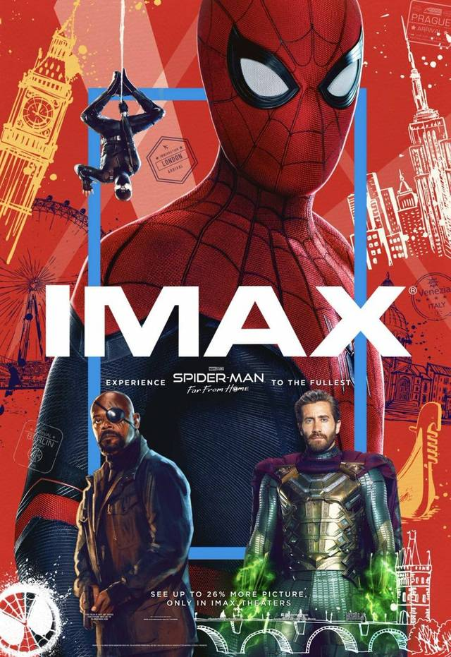 Spider-Man Far From Home IMAX Teaser Poster USA