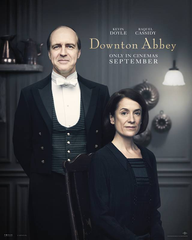 Downton Abbey Teaser Character Poster Internazionale 11