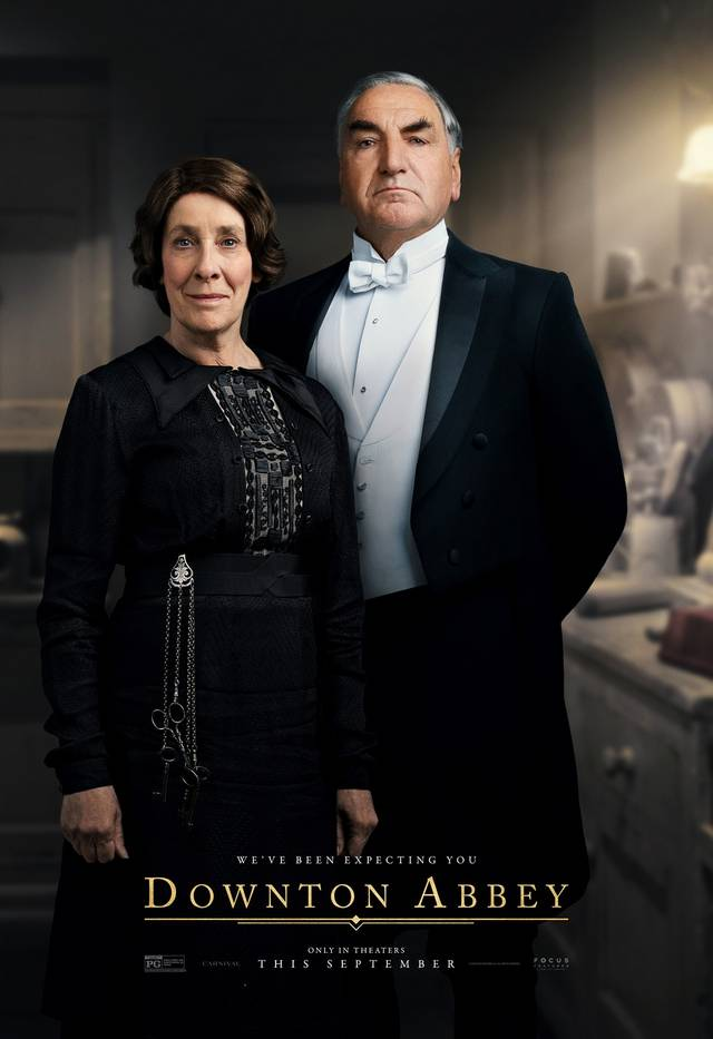 Downton Abbey Teaser Character Poster Internazionale 12