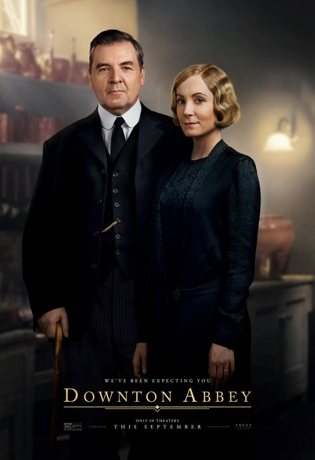 Downton Abbey Teaser Character Poster Internazionale 14