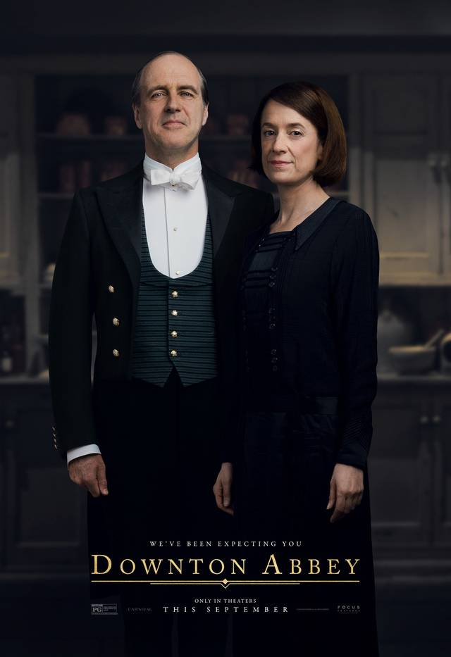 Downton Abbey Teaser Character Poster Internazionale 15