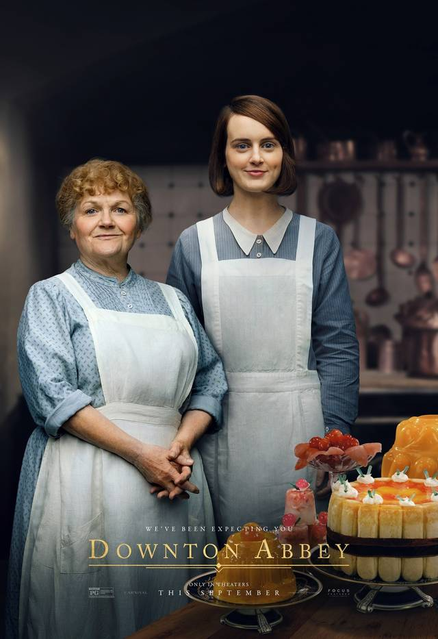 Downton Abbey Teaser Character Poster Internazionale 16