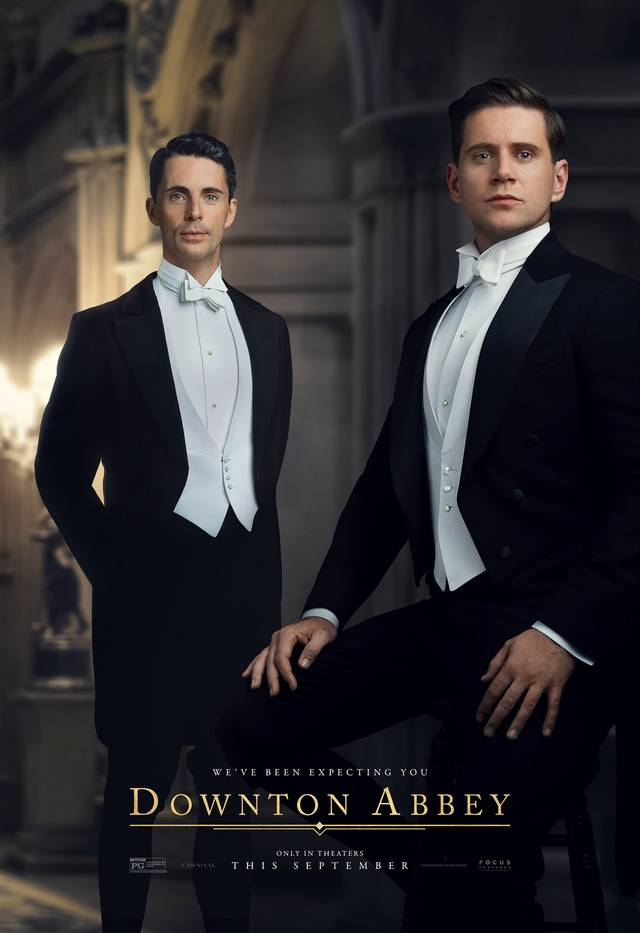 Downton Abbey Teaser Character Poster Internazionale 19