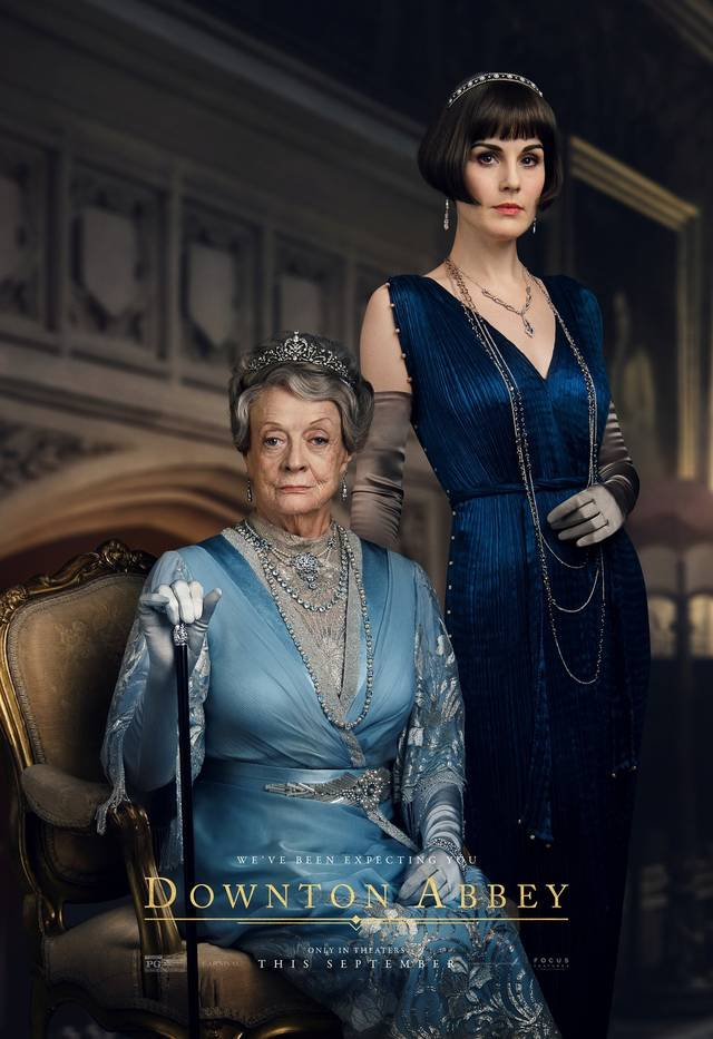 Downton Abbey Teaser Character Poster Internazionale 1