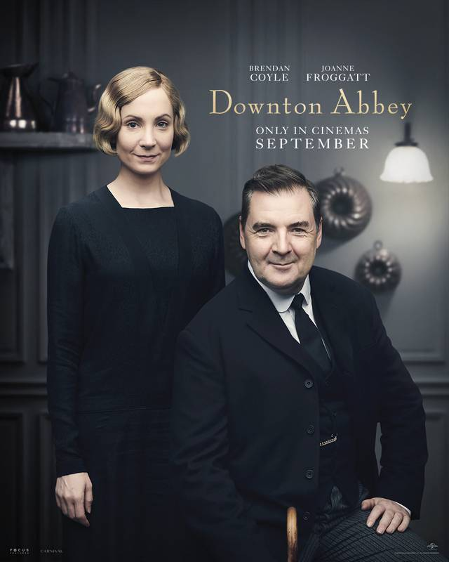 Downton Abbey Teaser Character Poster Internazionale 2