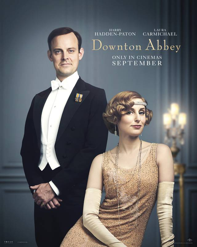 Downton Abbey Teaser Character Poster Internazionale 3