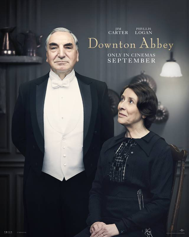 Downton Abbey Teaser Character Poster Internazionale 4