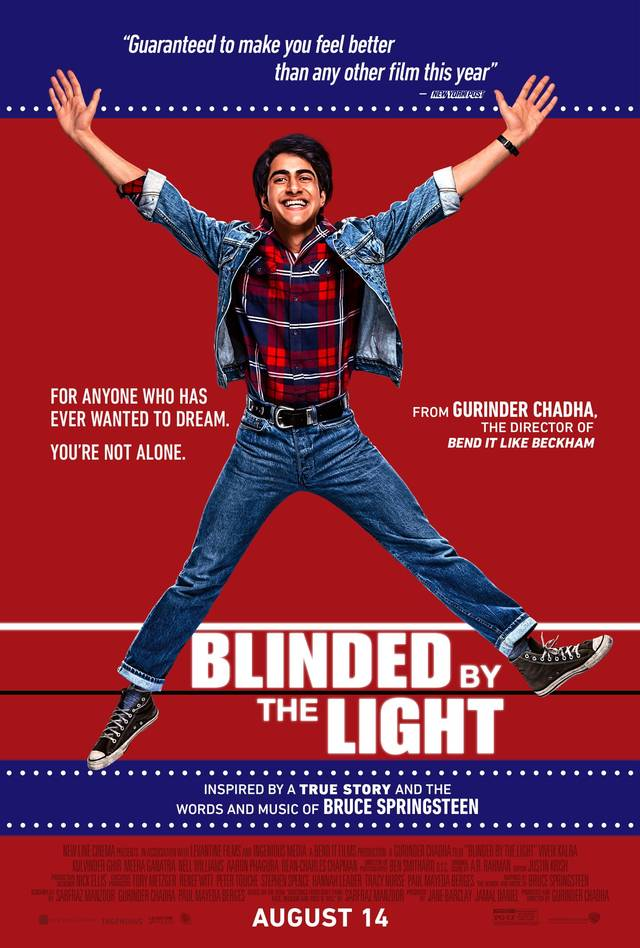 Il poster di Blinded By the Light