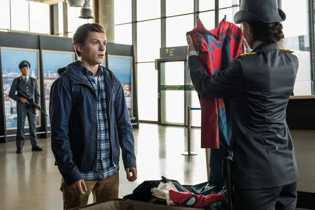 Spider-Man Far From Home Tom Holland foto dal film 8