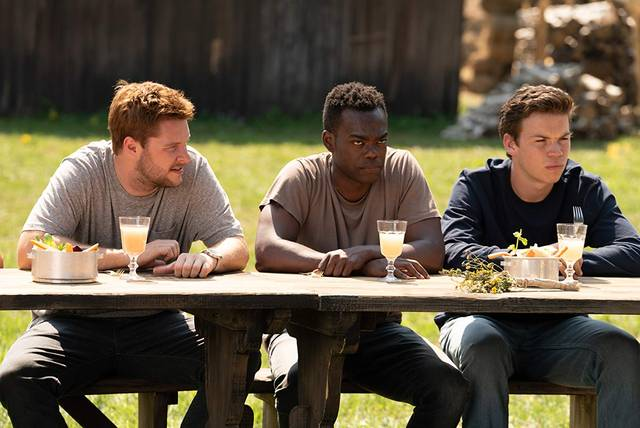 Midsommar - Il villaggio dei dannati Will Poulter William Jackson Harper Jack Reynor foto 3