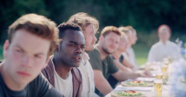 Midsommar - Il villaggio dei dannati William Jackson Harper foto dal film 2