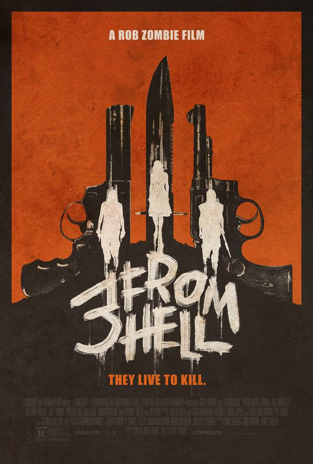 3 From Hell Teaser Poster USA 1