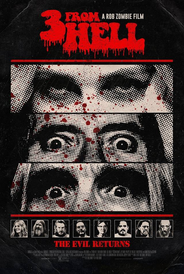 3 From Hell Teaser Poster USA 2