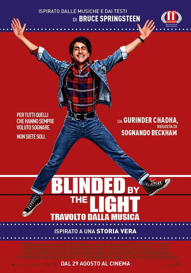Blinded By the Light_Poster Italia