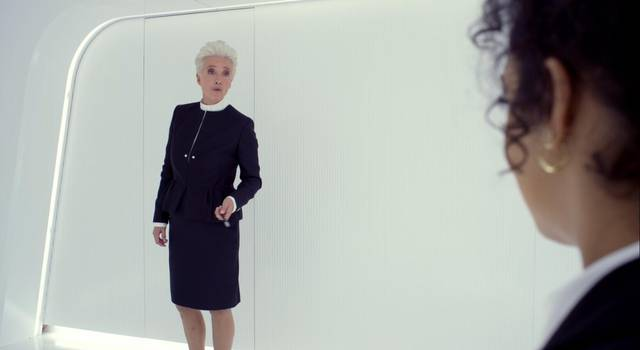 Men in Black International Emma Thompson Tessa Thompson foto dal film 1
