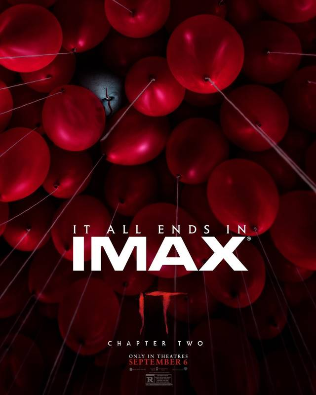 T CAPITOLO DUE Teaser IMAX Poster USA