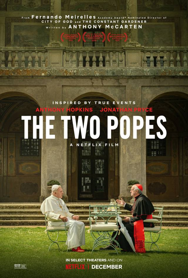 The Two Popes Netflix Poster Internazionale