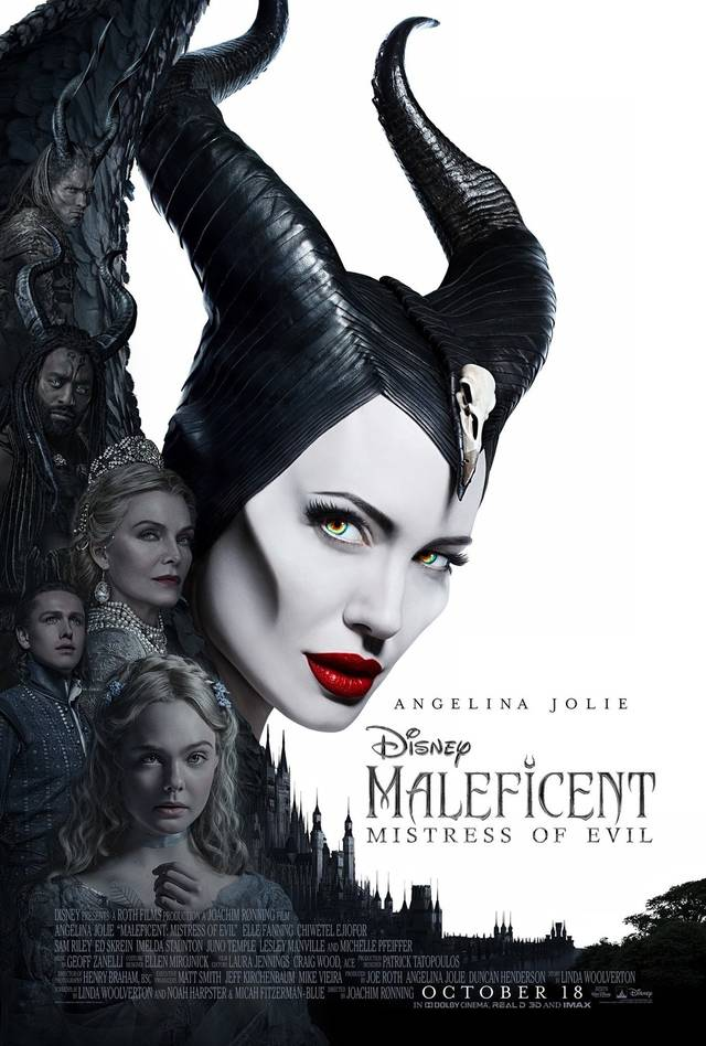 Maleficent – Signora del Male Poster USA