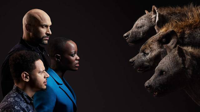 Il Re Leone Florence Kasumba, Keegan-Michael Key, Eric André Characters foto 5