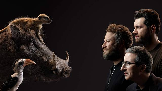 Il Re Leone Seth Rogen, John Oliver, Billy Eichner Characters foto 6