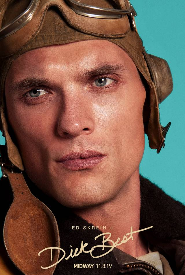 Midway Teaser Character Poster USA 9