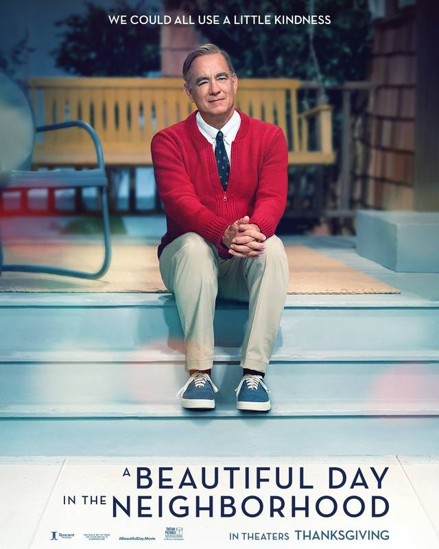 A Beautiful Day in the Neighborhood Teaser Poster USA