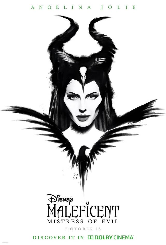Maleficent – Signora del Male Teaser Poster USA 2