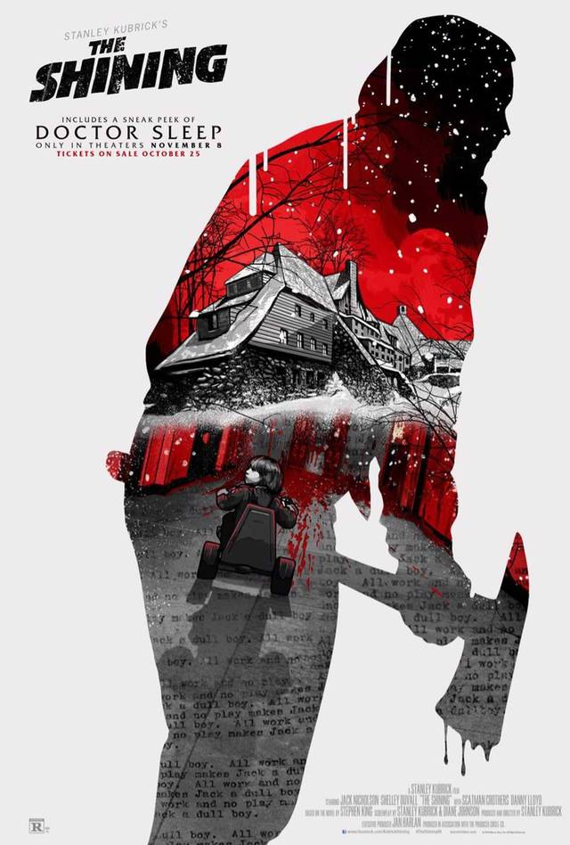 The Shining limited re-release Poster USA