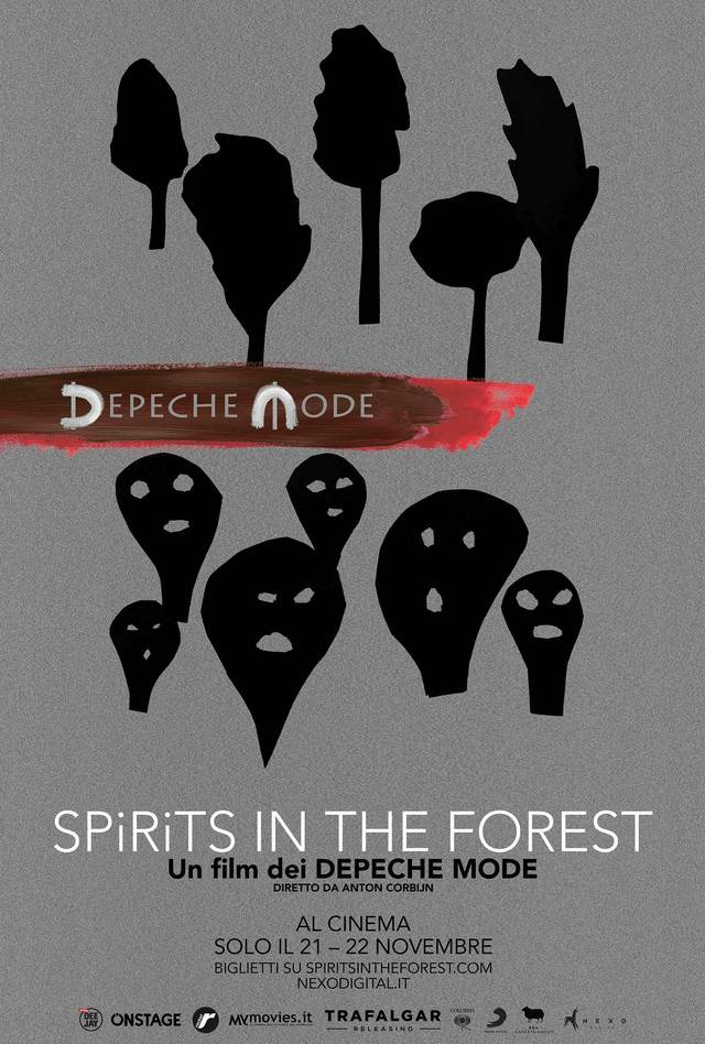 Depeche Mode - Spirits in the forest Poster Italia