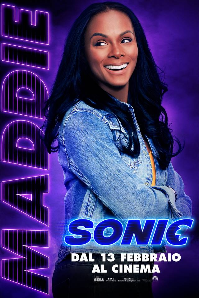 Sonic - Il Film Teaser Character Poster Italia 2